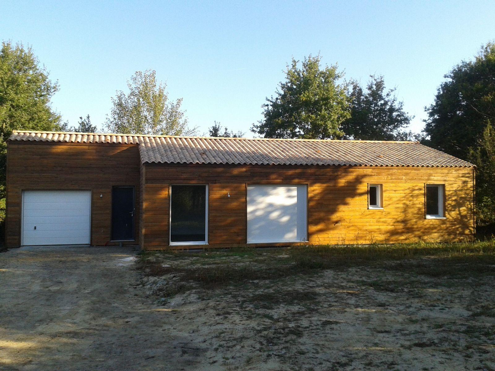 Nouvelle construction d 39 une maison bois en vend e for Nouvelle construction maison