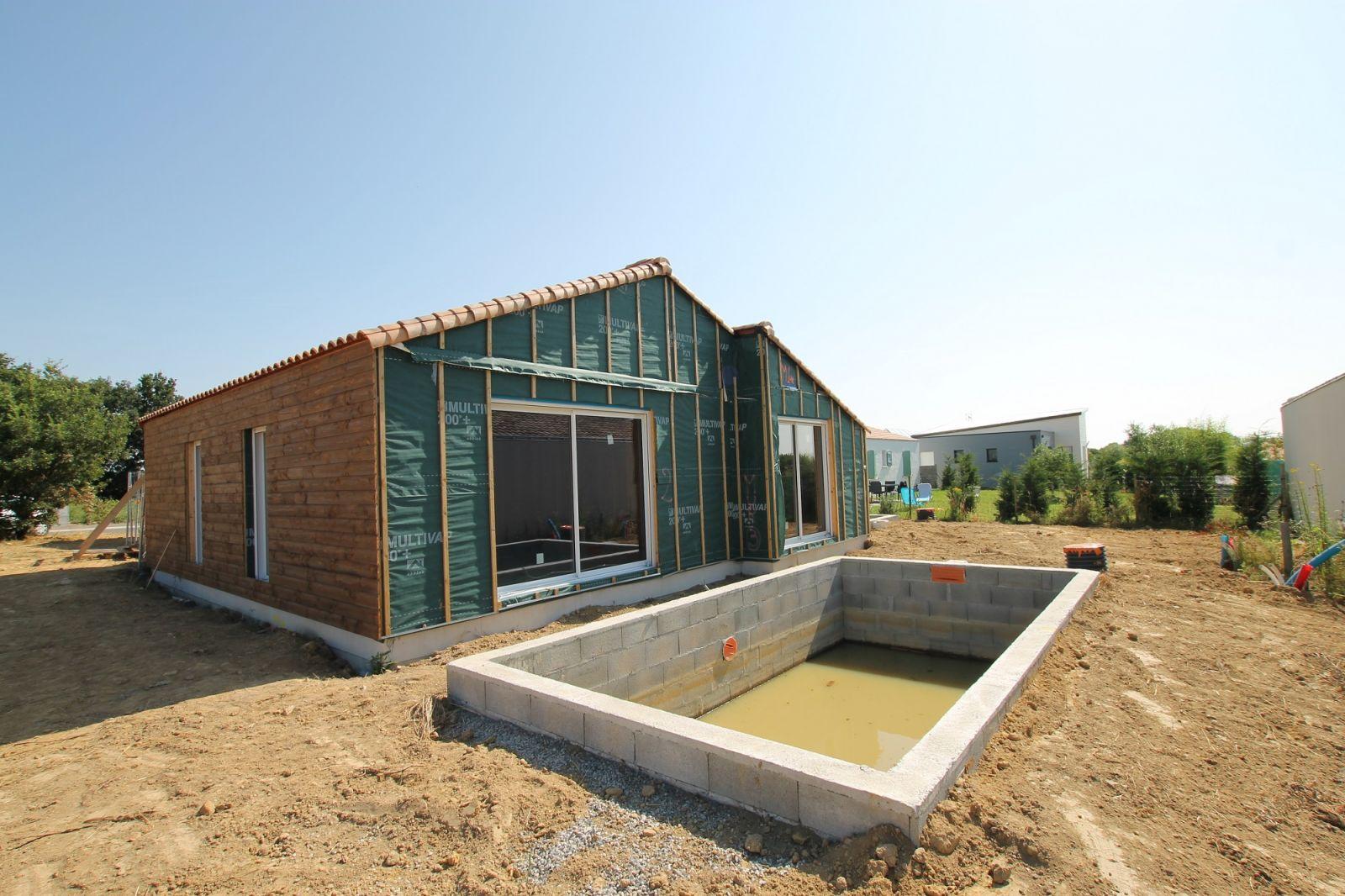 Nos r alisations construction de maisons en vend e for Construction maison en bois vendee